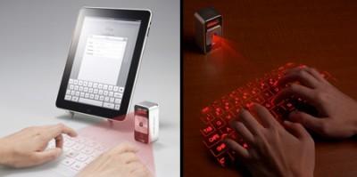 Projeksiyonlu klavyelerin eli kulağında
