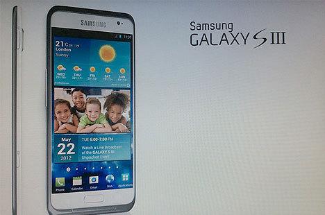 Samsung Galaxy S 3 çok yakında!