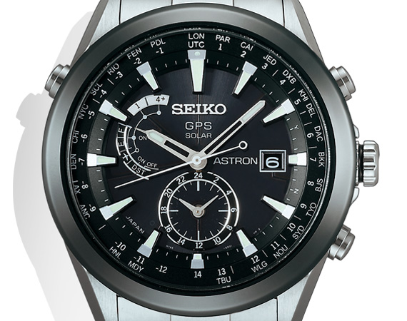 Seiko Astron'la dünya saatini yakalayın