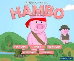 Androidler için yeni oyun: Hambo