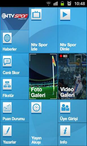 Android NTV Spor Uygulaması