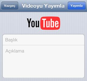 iOS 6 YouTube uygulaması