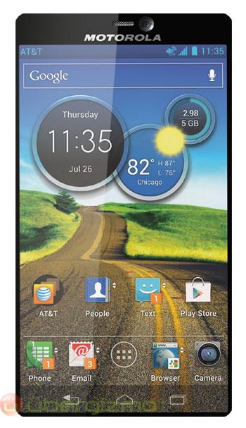 Motorola kenardan kenara telefon