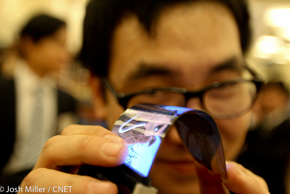 Samsung bükülebilir ekran