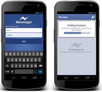 Yeni Facebook Messenger indir