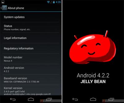 Android 4.2.2 Jelly Bean özellikleri