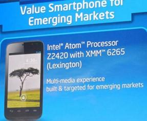 Intel'den CES 2013'te yeni bir telefon