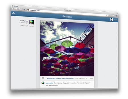Instagram, Web'e geçiyor