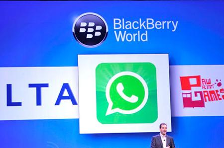 Blackberry 10 WhatsApp indir