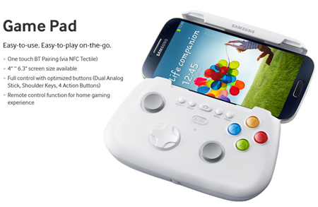 Galaxy S4 GamePad'leri