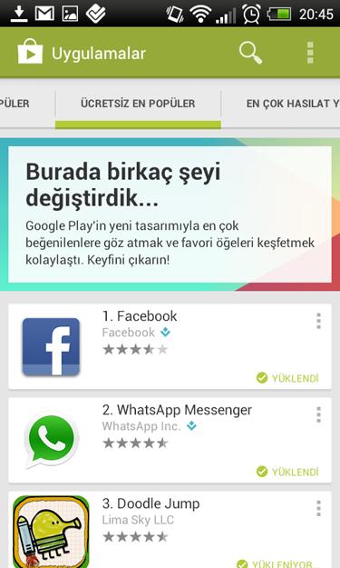 Google Play Store 4.0.25 indir
