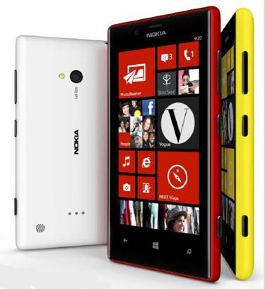 Nokia Lumia 720 ve 520 Türkiye'ye geliyor