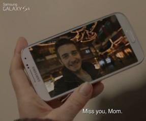 Samsung Galaxy S4 için yeni reklam