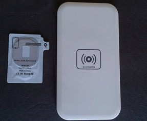 Samsung S4, S3, Note kablosuz şarj