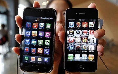 TouchWiz – iOS karşılaştırma