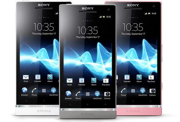 Sony Xperia SL ve Acro S 4.1.2 Jelly Bean