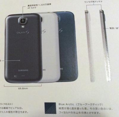 Samsung Galaxy S4 renkleri