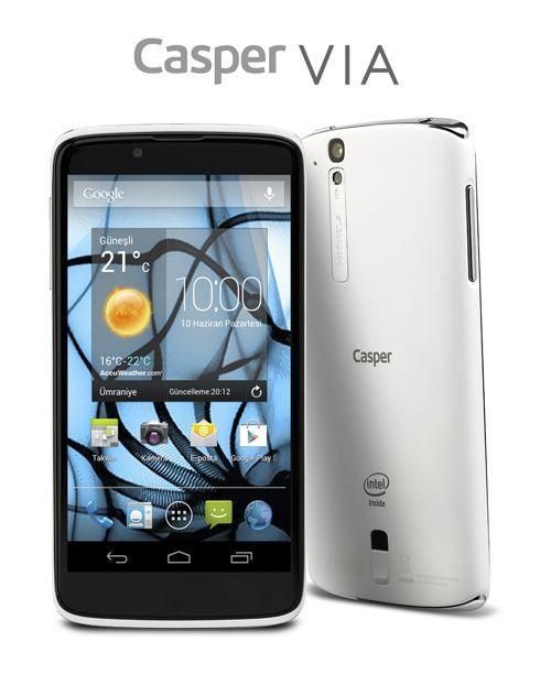 Casper akıllı telefon açıklaması