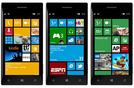 Denizbank Windows Phone 8 uygulaması
