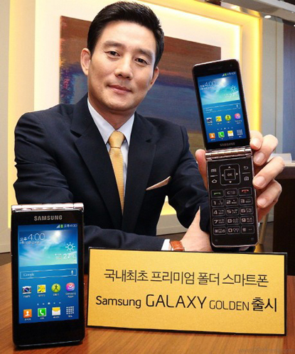 Samsung'dan Kapaklı Galaxy Golden