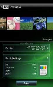 Canon Mobile Printing