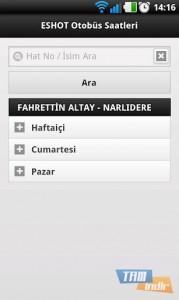 İzmir Eshot Otobüs Saatleri