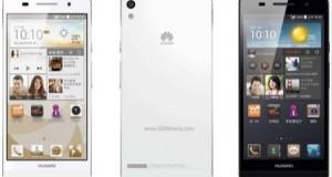 Huawei Ascent P6 S tanıtıldı