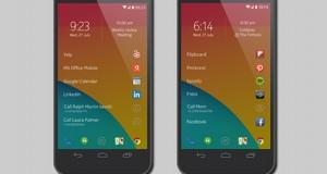 Nokia'dan Android için Z Launcher