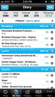 Calorie Counter & Diet Tracker İndir