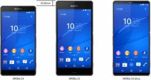 Sony Xperia Z4 ve Z4 tanıtılmayı bekliyor